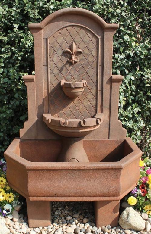 Product Details 2063 Fwl Fleur De Lis Wall Fountain